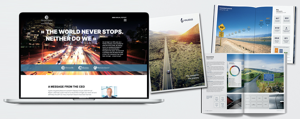 Annual Report Design Agency NYC